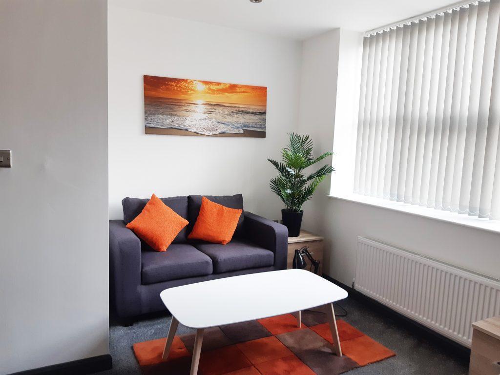 Amy Johnson House Lounge Area