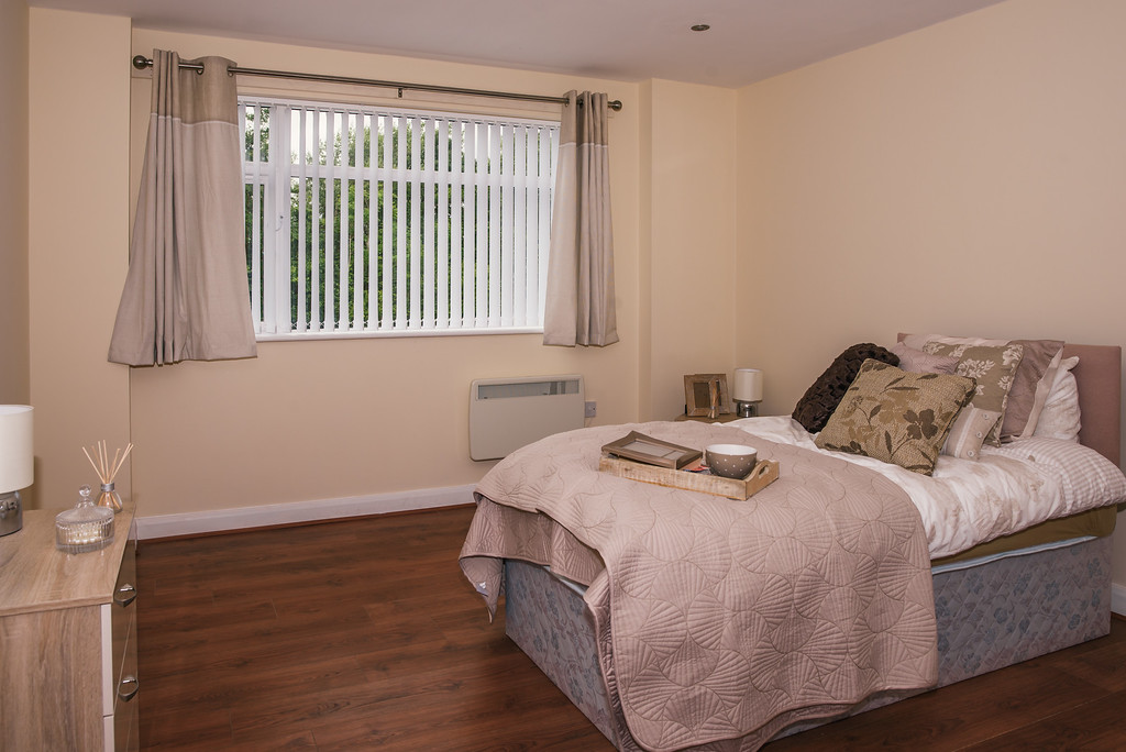 Mary Seacole House bedroom