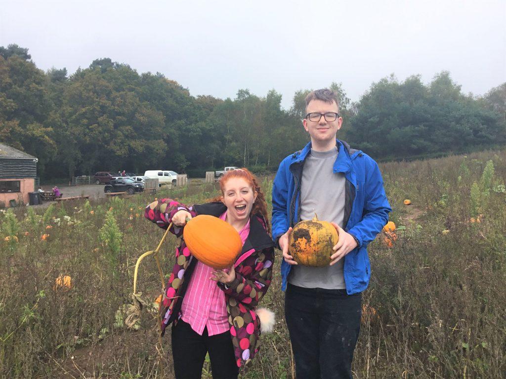 Grainger House Pumpkin Picking