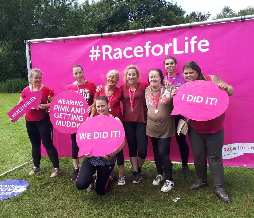 Northern Healthcare team complete race for life