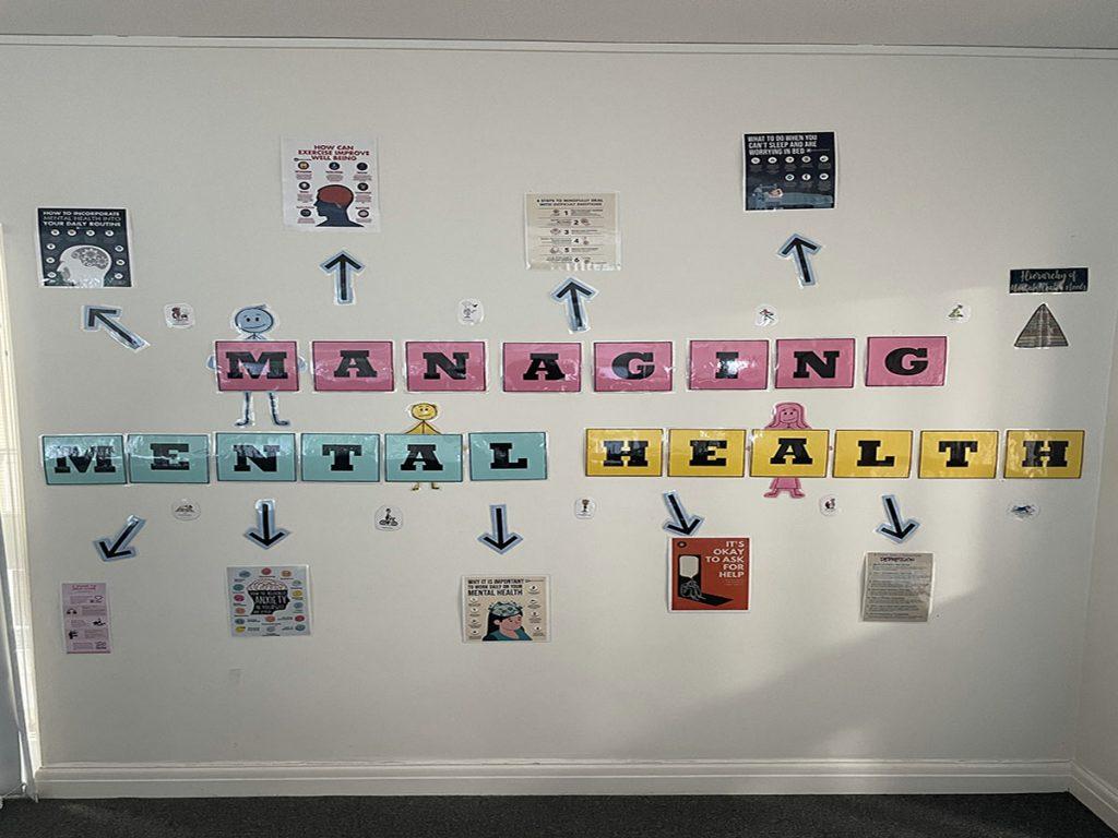 Managing Mental Health Display Holland House