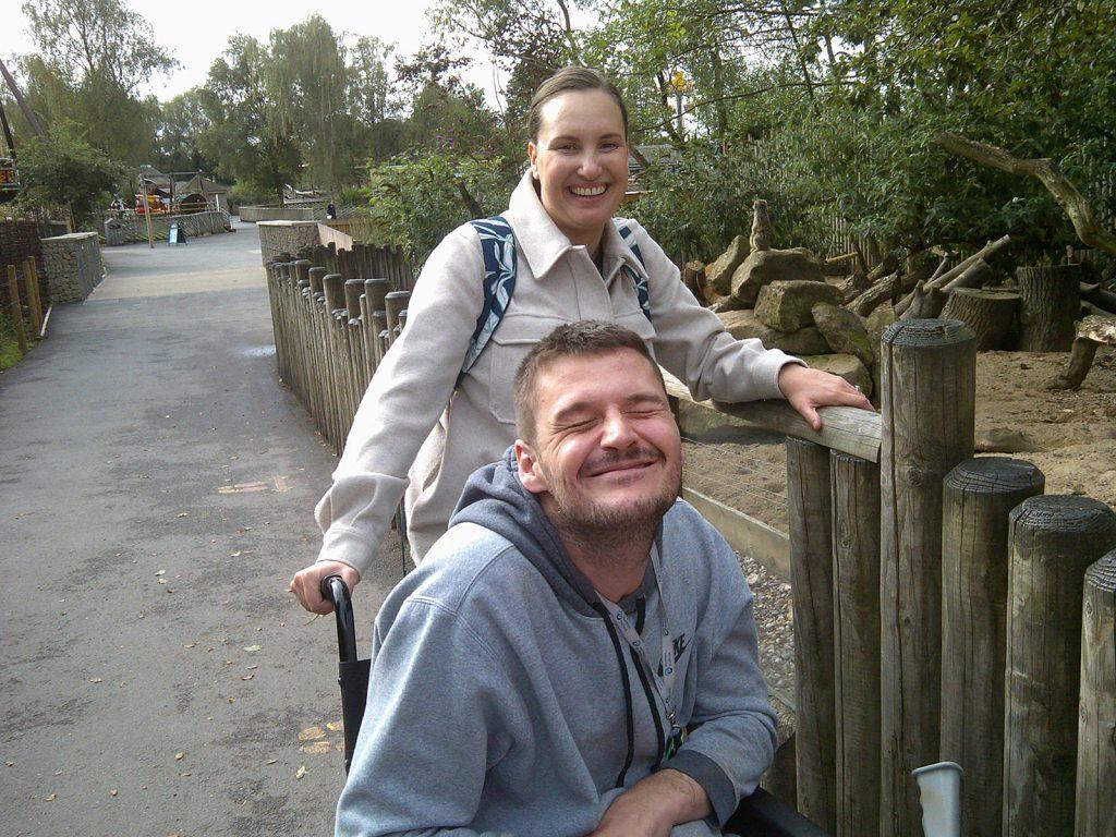 Hyde Park residents and staff enjoying safari trip